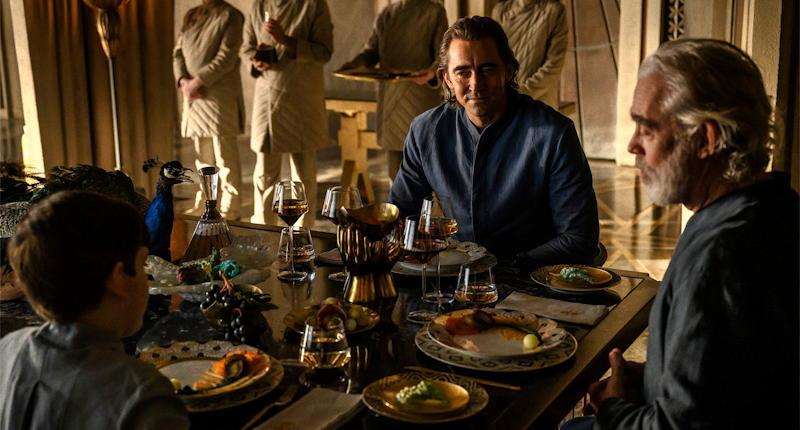 foundation series appletv - cleons dinner publicity still