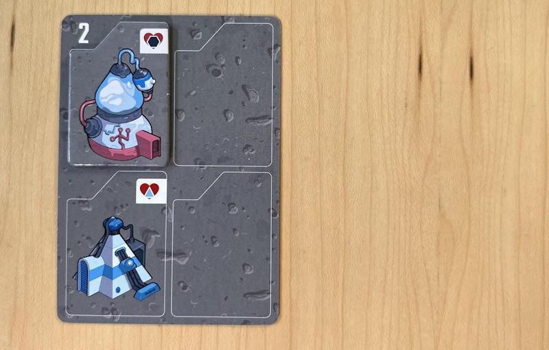 luna capital game - first card played