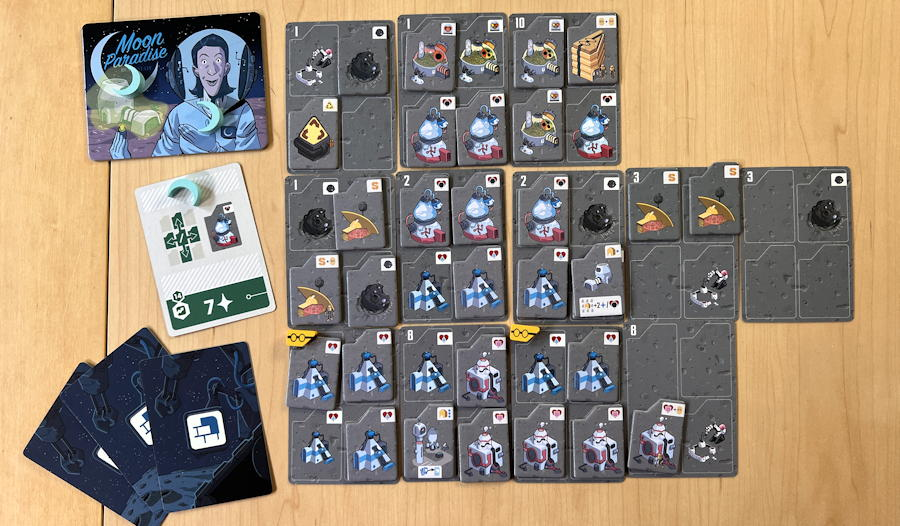 luna capital game review - end of game solo