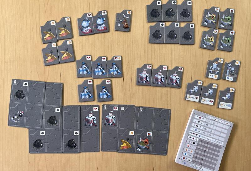 luna capital game review - automaton scoring