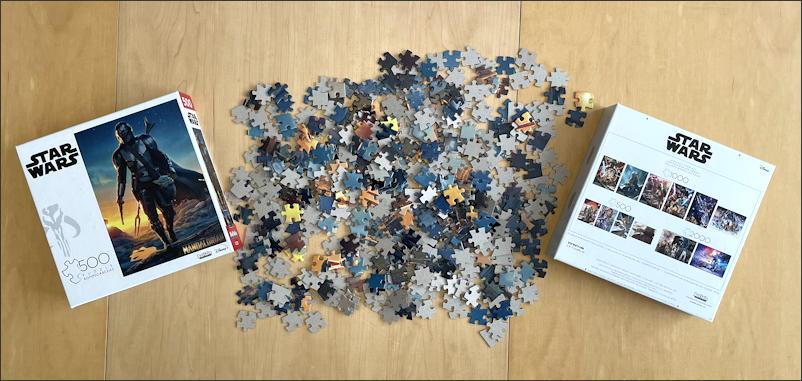 mandalorian jigsaw puzzle - buffalo games & puzzles - unboxing