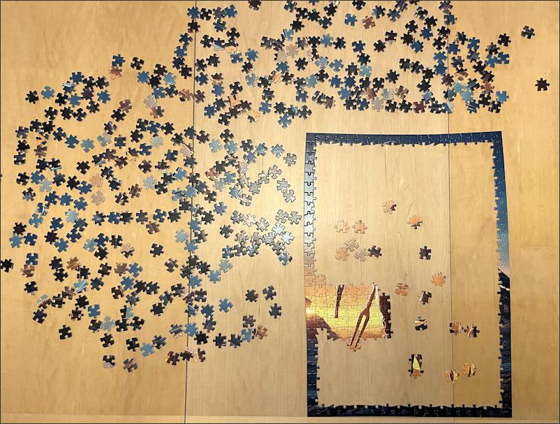 mandalorian jigsaw puzzle - buffalo games & puzzles - frame