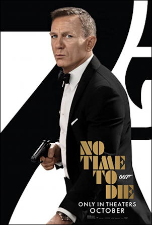 james bond 'no time to die' movie poster one sheet