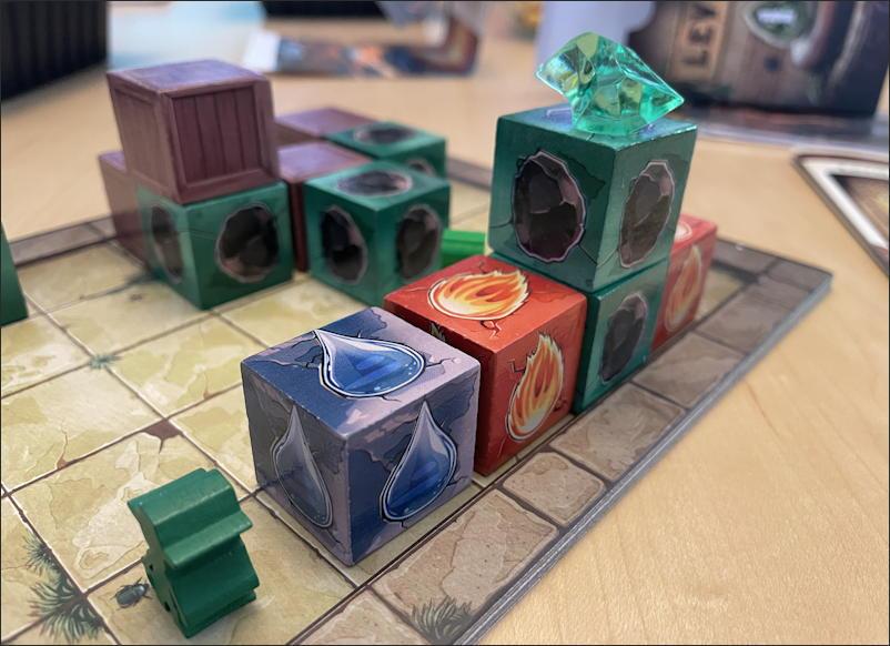 relics rajavihara - montalo's revenge - puzzle game - setup 1-1