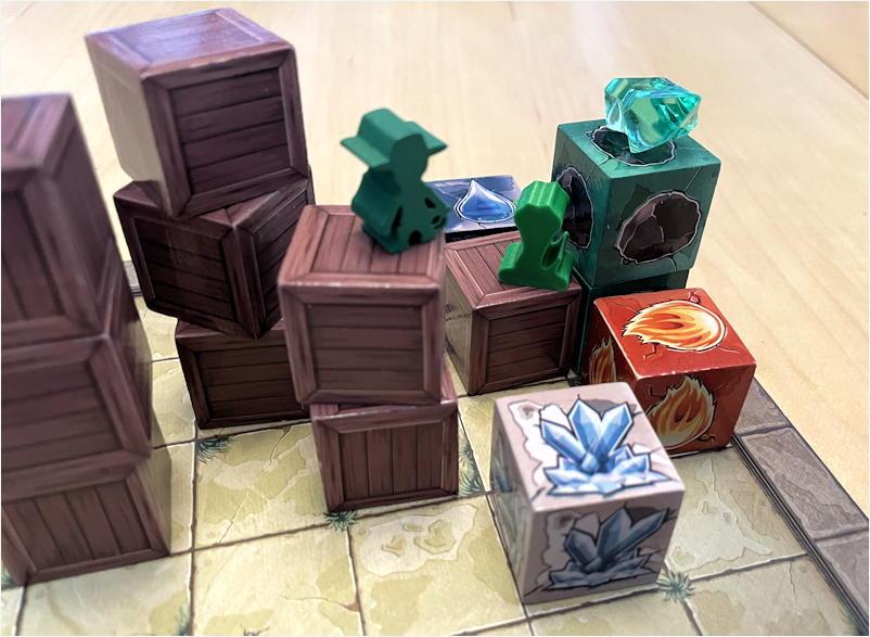 relics rajavihara - montalo's revenge - puzzle game - component closeup
