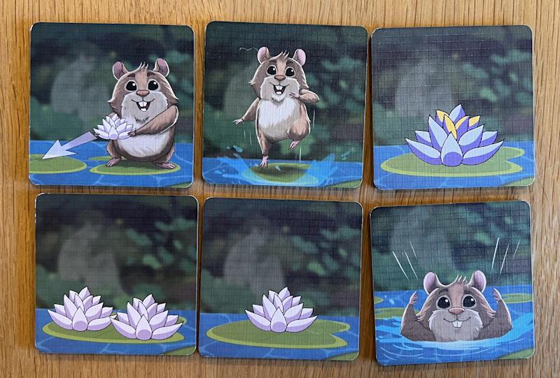 hamsters vs hippos game - tiles