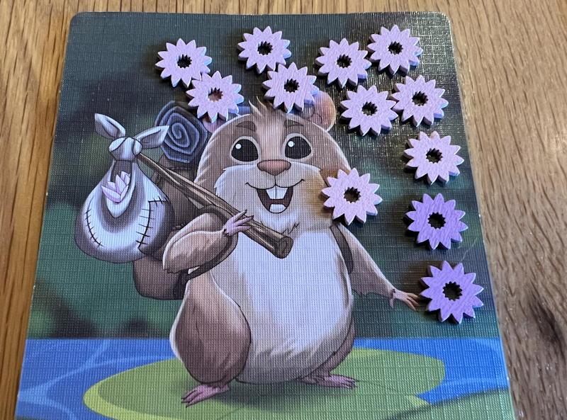 hamsters vs hippos game - final score flower lotus tokens