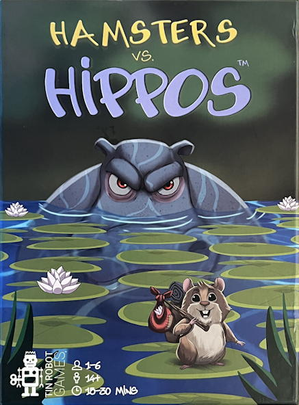 hamsters vs hippos game - box art
