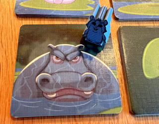 hamsters vs hippos family push your luck game review solo mode