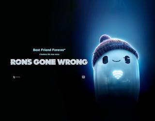 ron's gone wrong 2021 - film movie review