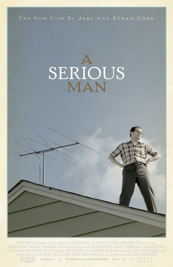 a serious man one sheet