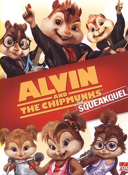 alvin and the chipmunks the squeakquel one sheet