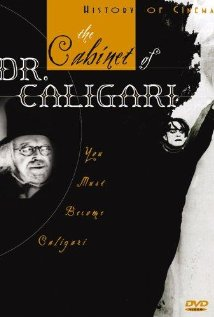 cabinet dr caligari one sheet