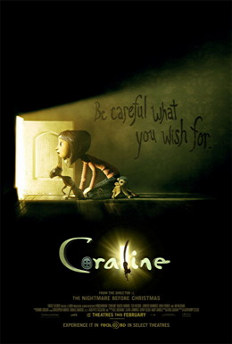 coraline one sheet