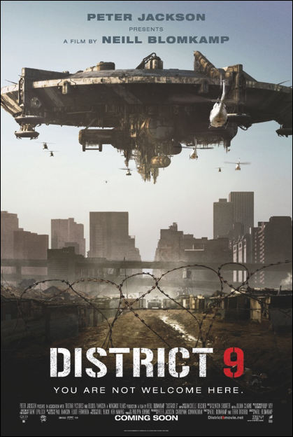 district 9 one sheet