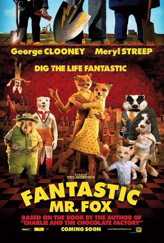 fantastic mr fox one sheet