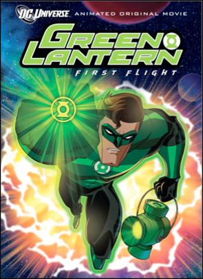 green lantern first flight one sheet