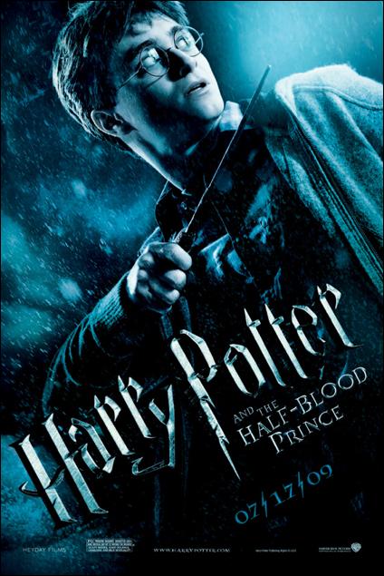 harry potter half blood prince onesheet