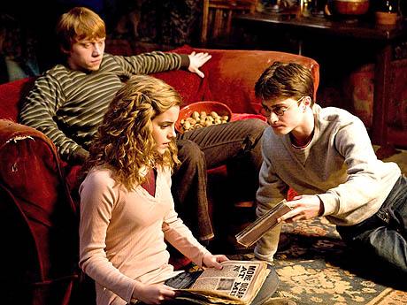harry ron hermione