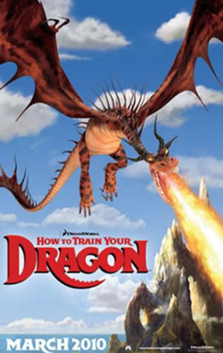 how to train your dragon one sheet