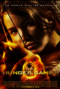 hunger games one sheet