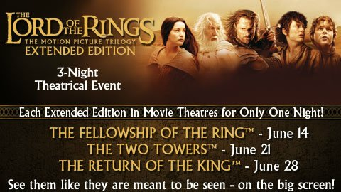 lotr extended edition