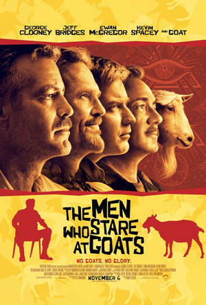 men who stare at goats one sheet