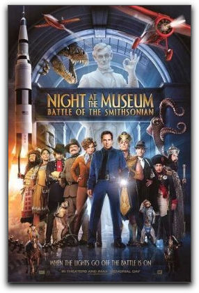 night museum battle smithsonian one sheet