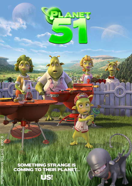 planet 51 one sheet