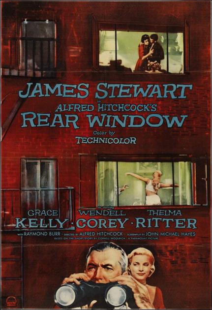 rear window one sheet