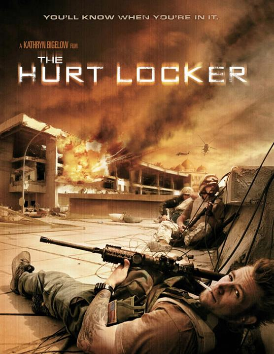the hurt locker onesheet