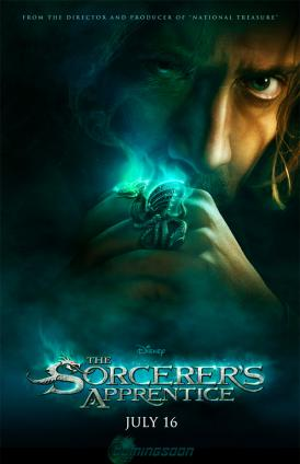 the sorcerers apprentice one sheet