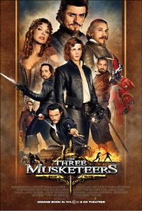 the three musketeers one sheet