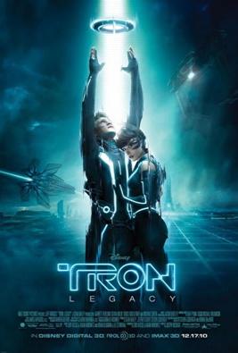 tron legacy one sheet