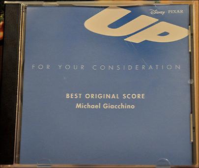 up awards screener soundtrack